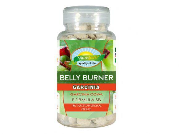 BELLY BURNER GARCINIA FÓRMULA SB – POTE 180 PASTILHAS 800MG