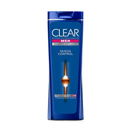 Shampoo Clear Men Anticaspa 200ml Men Queda Control