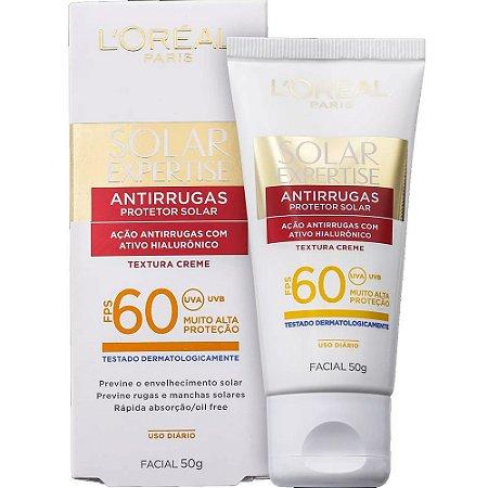 Protetor Solar Loreal Facial  Antirrugas FPS 60 50gr