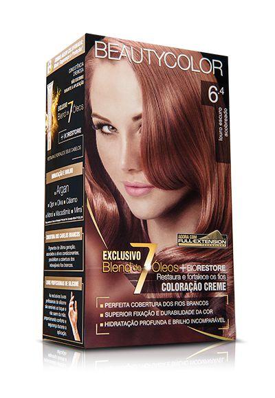 Tintura Beauty Color Kit 6.4 Louro Escuro Acobreado