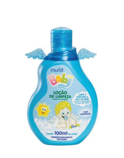 Loção de Limpeza Muriel Baby Azul 100mL