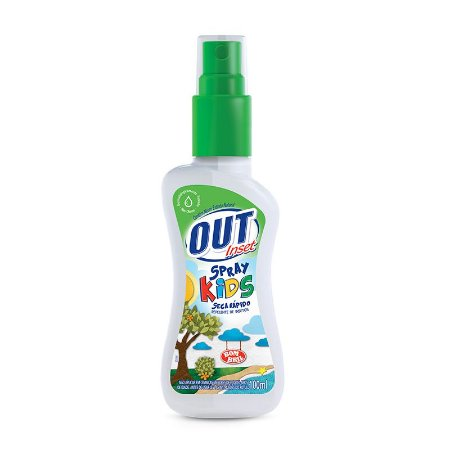 Repelente Bombril Out Spray 100ml Kids