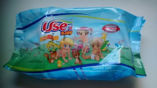 Use It Baby Toalhinhas Umedecidas 100 unidades