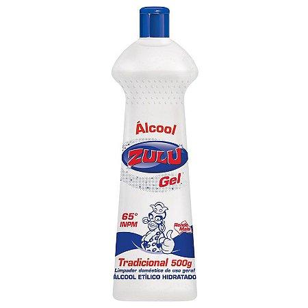 ALCOOL GEL ZULU 500GR