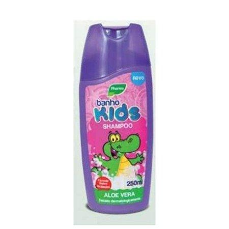 Shampoo Pharma Banho Kids 250ml Aloe Vera