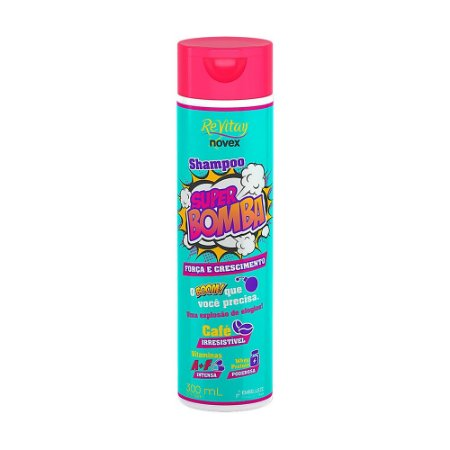 Shampoo Novex Revitay Super Bomba 300ml