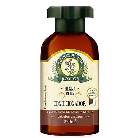 Condicionador Bio Extratus Botica Henna Oliva 270ml