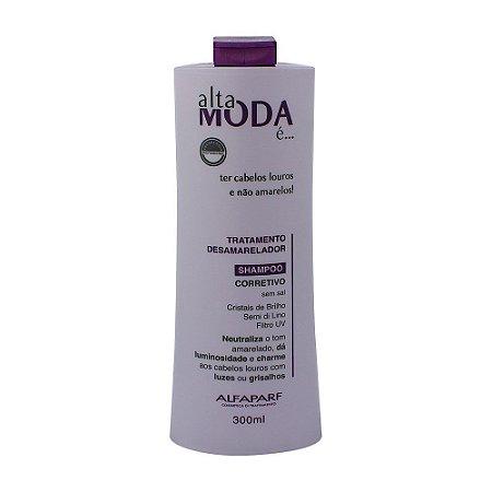 Alta Moda Shampoo Desamarelador 300mL
