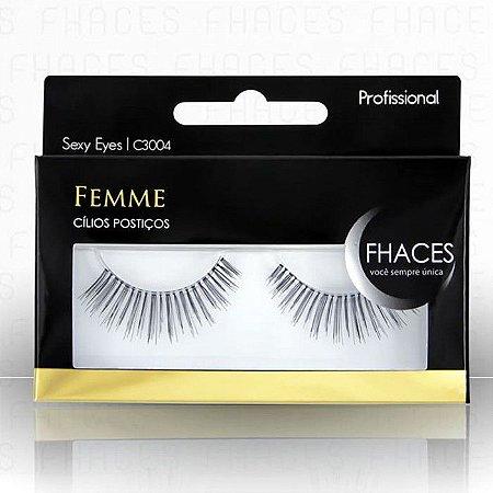 Fhaces Cilios Postiços Prof. Sexy Eyes -C3004