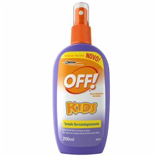Repelente Off Kids Spray 200mL