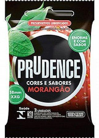 Preservativo Prudence Morangão 3un
