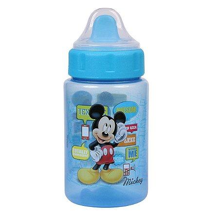 Copo Disney BabyGo Mickey c/Tampa e Valvula 340ml (Azul)