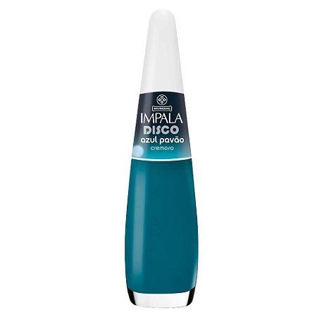 Esmalte Impala Cremoso Azul Pavão