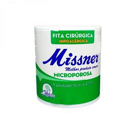 Fita Microporosa Missner 5cm x 4,5m