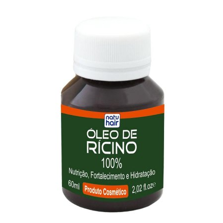 Óleo de Rícino 100% Natu Hair 60mL