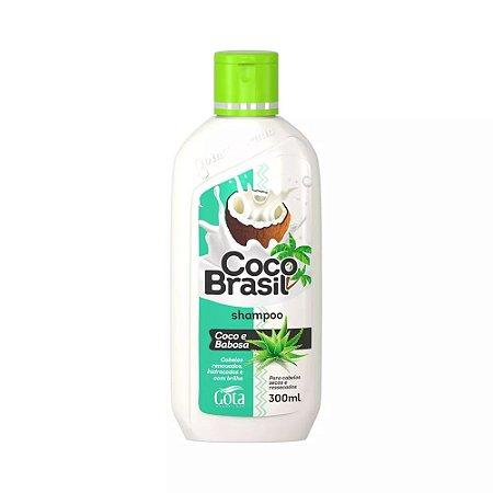 Shampoo Gota Dourada Coco+Babosa 300mL