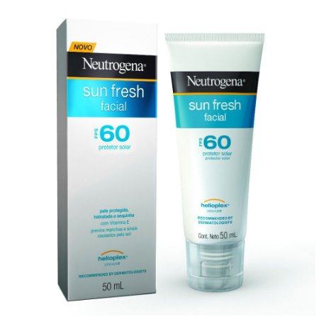 Protetor Solar Facial Neutrogena Sun Fresh FPS 60 50ml