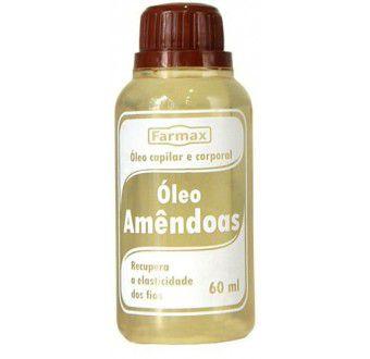 Farmax Óleo de Amendoas Capilar 60mL