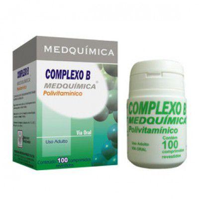 Complexo B 100cpr - Medquimica