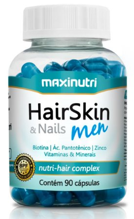 HAIRSKIN MEN 90 CAPSULAS MAXINUTRI