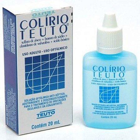 Nafazolina - COLIRIO TEUTO 20ML GTS