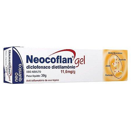 Diclofenaco DIETILAMONIO - NEOCOFLAN GEL 30g - NQ