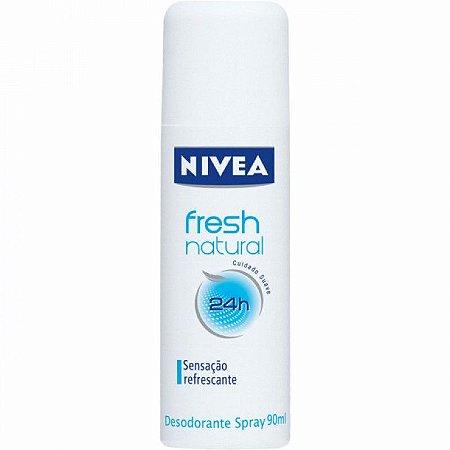 Desodorante Nivea Spray Women 90ml Fresh  Natural