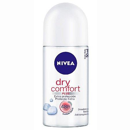 Desodorante Nivea Roll-On Women 50ml Dry Confort