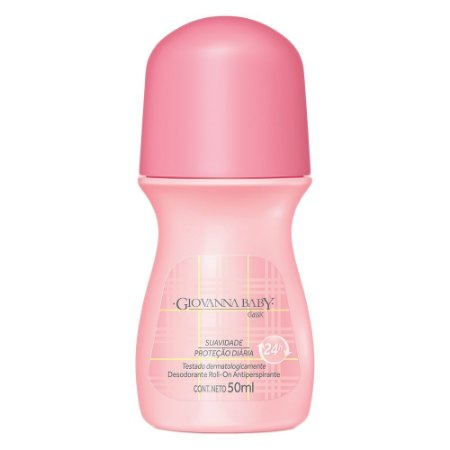 Desodorante Giovanna Baby Roll-On Classic 50ml