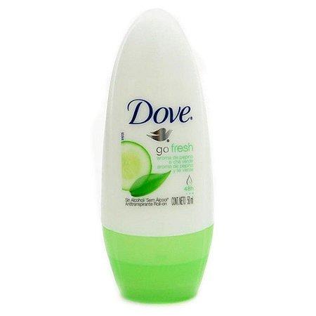 Desodorante Dove Roll On 50ml Pepino e Cha Verde