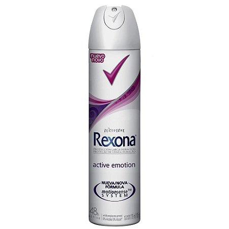 Desodorante Rexona Aerosol Woman 150ml  Active Emotion