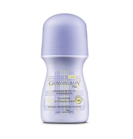 Desodorante Giovanna Baby Roll-on Lilas 50ml