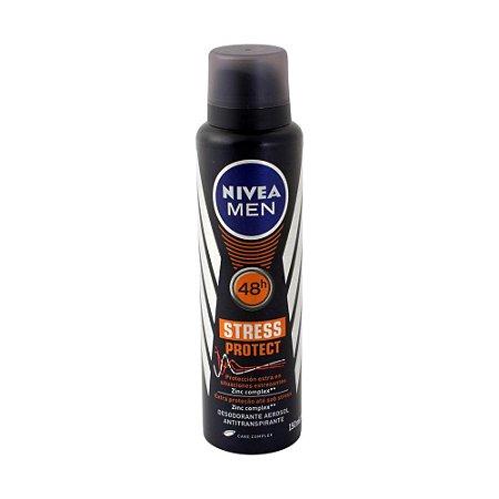 Desodorante Nivea Aerosol 150ml Men Stress Protect