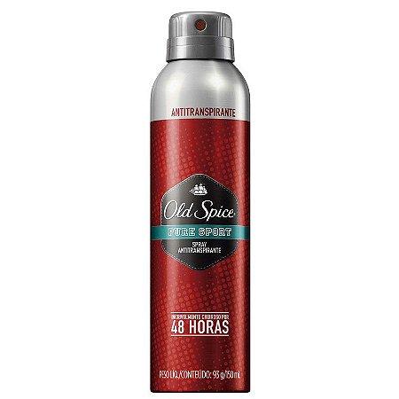 Desodorante Old Spice Aerosol Pure Sport 150ml
