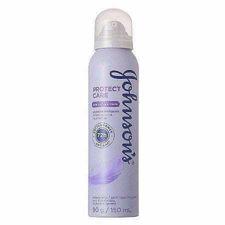 Desodorante Johnson's Aerosol 150ml Protect Care