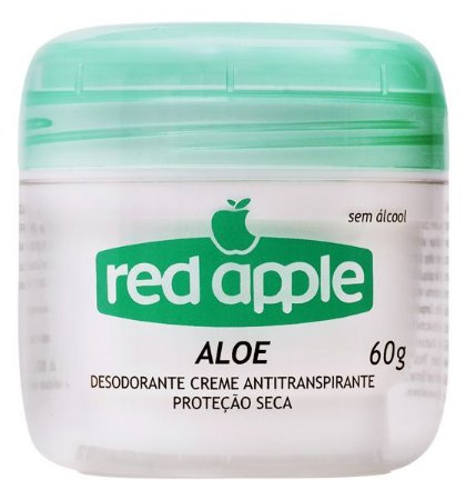 DESODORANTE RED APPLE ALOE  60GR CREME