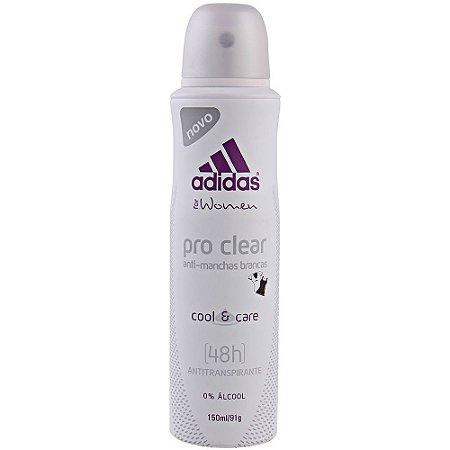 Desodorante Adidas Aero 150ml For Women Pro Clean