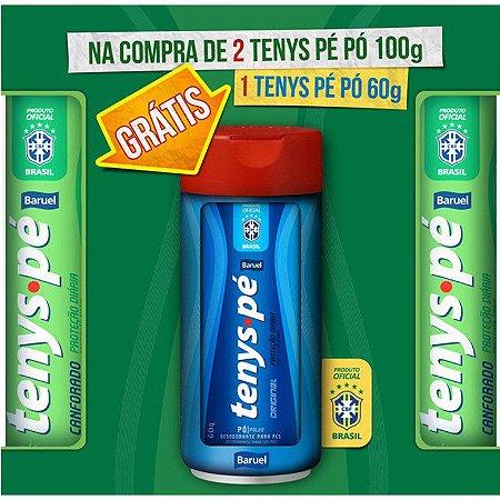 Tenys Pé Baruel 2 Canforado 100g + 1 Original 60g