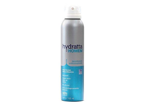 Desodorante AerOsol Hydratta Homem 165ml