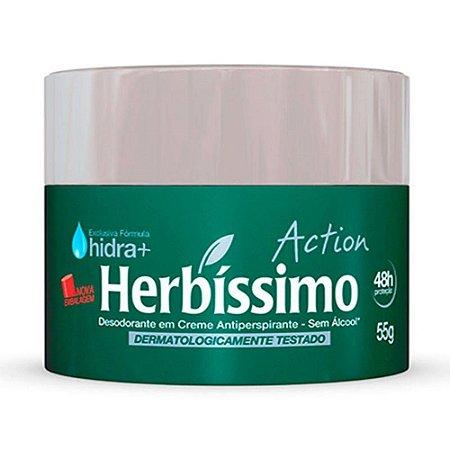 Desodorante Herbissimo Creme 55grs Action