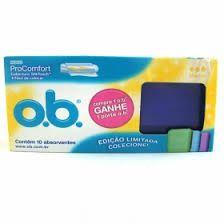 Absorvente Interno OB Médio  c/20unid.+ Porta OB