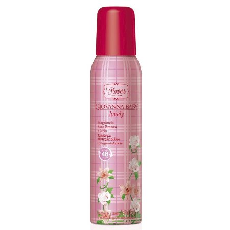 Desodorante Giovanna Baby Aerosol 150ml Lovely