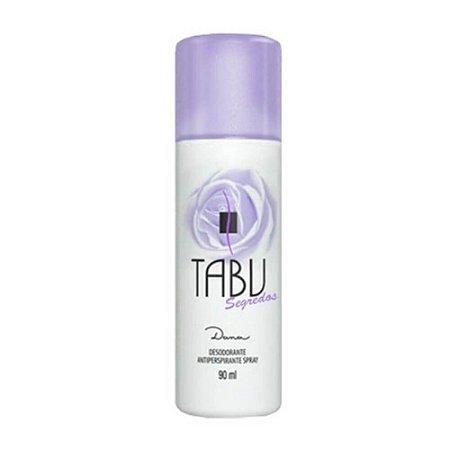 Desodorante Tabu Spray Segredos 90ml