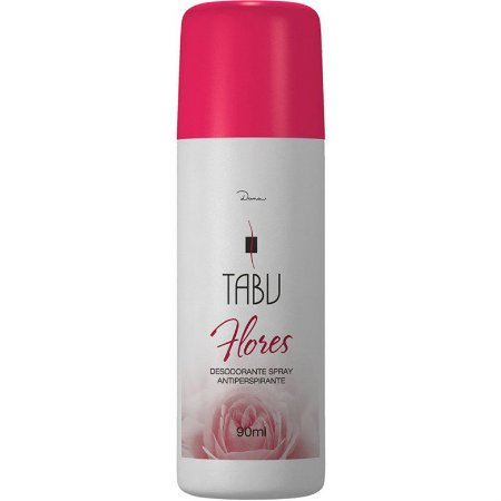 Desodorante Tabu Spray Flores 90ml