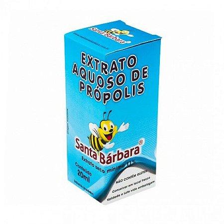 Extrato Aquoso de Própolis Santa Barbara 20ml