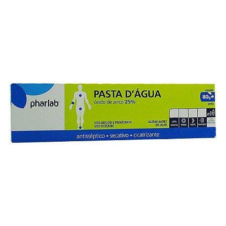 Pasta D'agua Com Calamina 10%  80gr - Pharlab