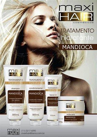 Kit Maxi Hair Mandioca