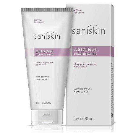 Saniskin Loção Hidratante Original 200ml