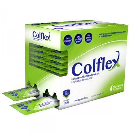 COLFLEX com 30 sachês de 11,1gr - Sem sabor - Mantecorp