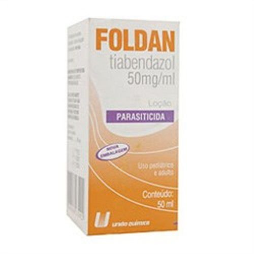 Tiabendazol - FOLDAN LOÇÃO 50ML